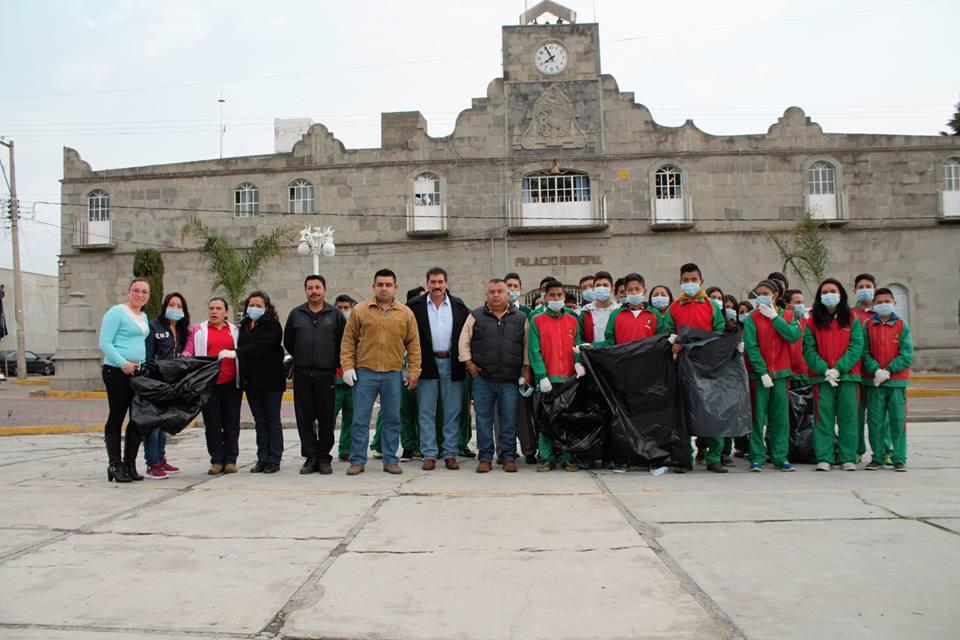 Alcalde de Xaltocan se suma al Día Mundial del Medio Ambiente