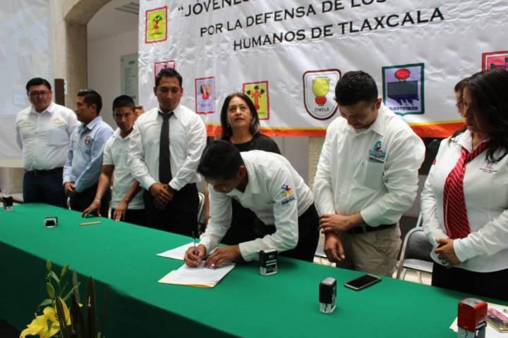 Huactzinco se suma al Consejo Estatal de Jóvenes Servidores Públicos