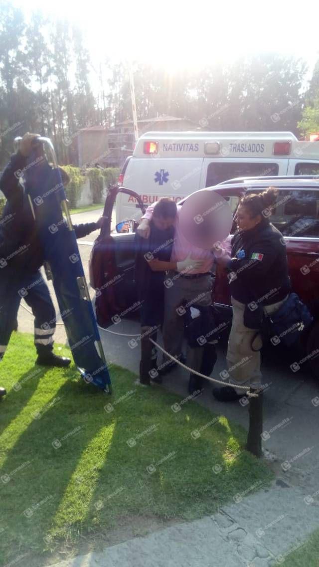 Le intentan robar su camioneta y solo recibe un balazo en la pierna