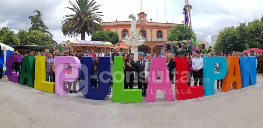 Con estas letras monumentales Calpulalpan ya tiene identidad: alcalde