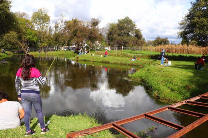 Se realiza con éxito Torneo de pesca en Xicohtzinco