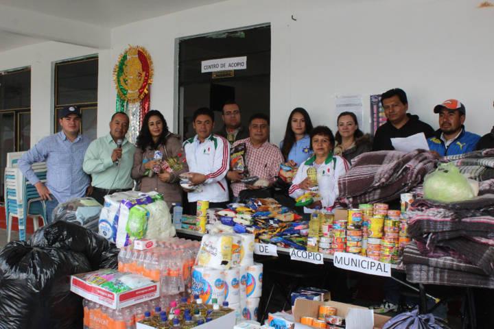 Se consolida SMDIF con afectados del sismo y envía víveres a Jantetelco Morelos