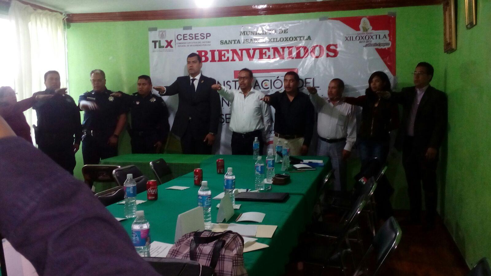 Alcalde encabeza Consejo de Seguridad Pública Municipal