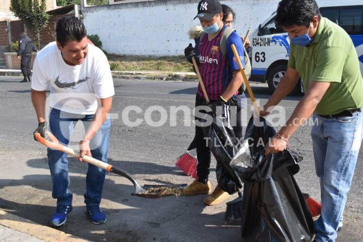 Oscar Murias encabezó jornada nacional Limpiemos Nuestro México