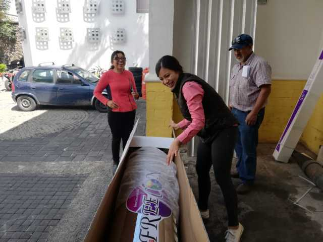Continúa entrega de calentadores solares subsidiados en Xicohtzinco