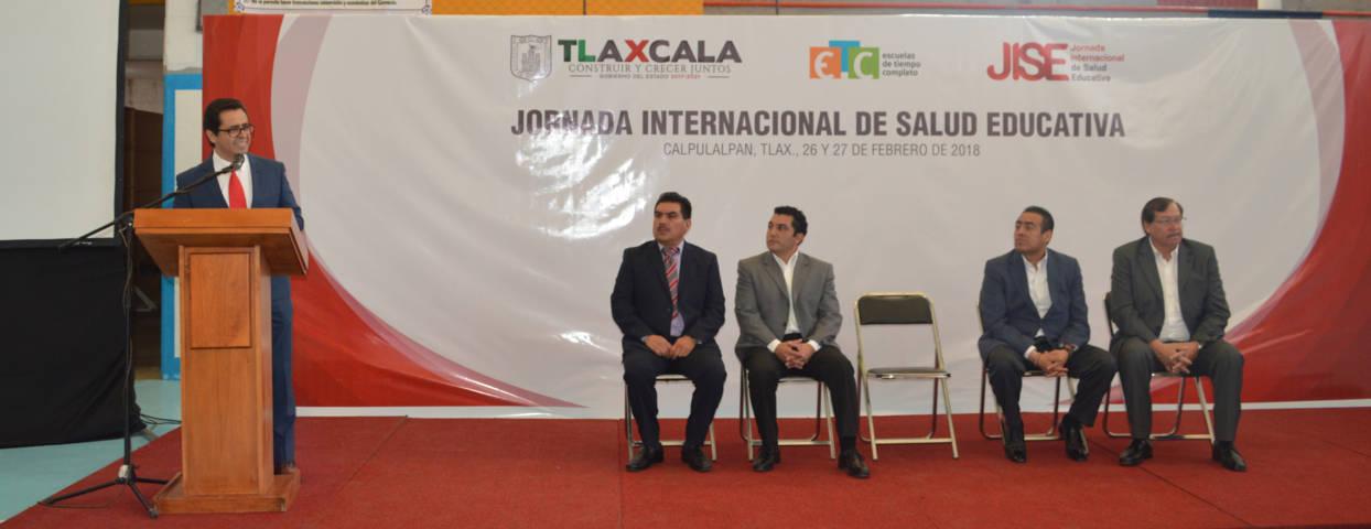 Calpulalpan sede de la tercera jornada de Salud Educativa