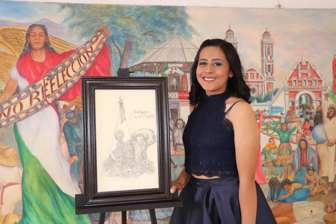Anahí será la próxima reina de las fiestas patrias 2019 en Xicohtzinco