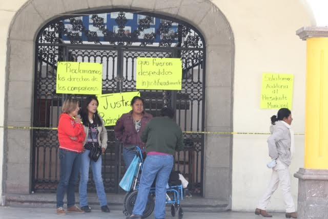 Sin solución la toma de alcaldía en San Pablo del Monte