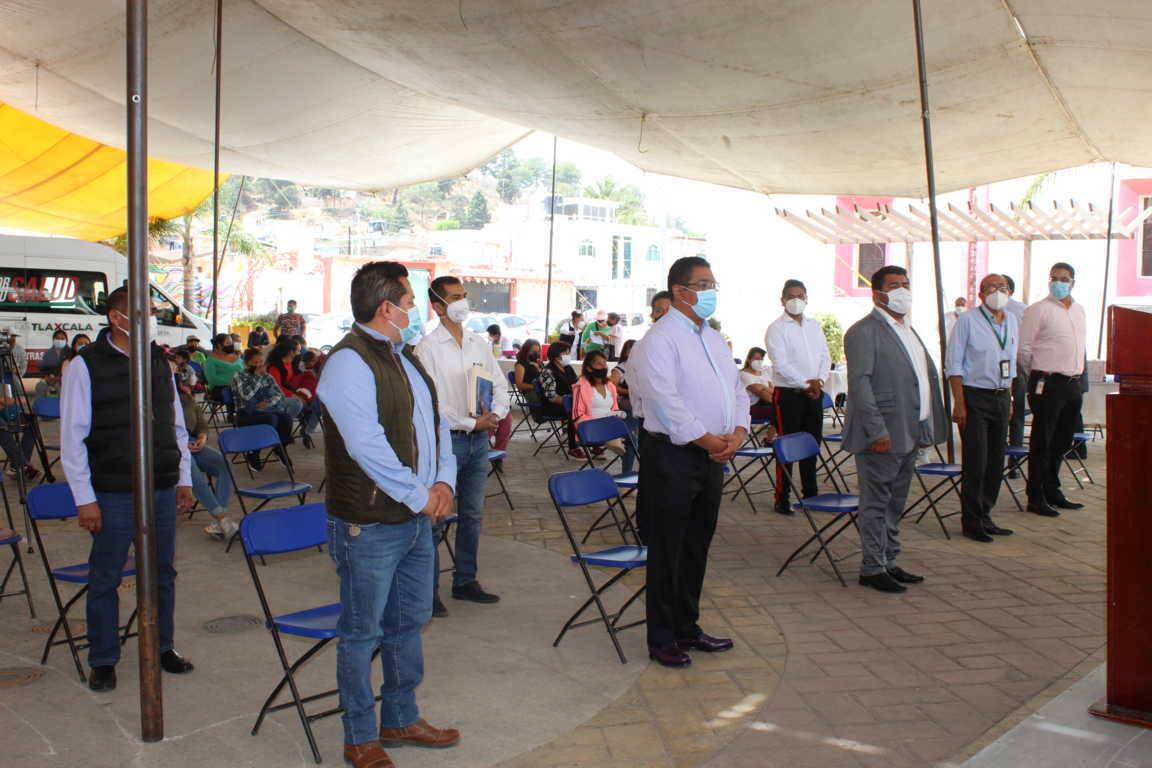 """Continúa la caravana denomina """"Ruta por tu Salud"""" en Tepetitla de Lardizábal"""
