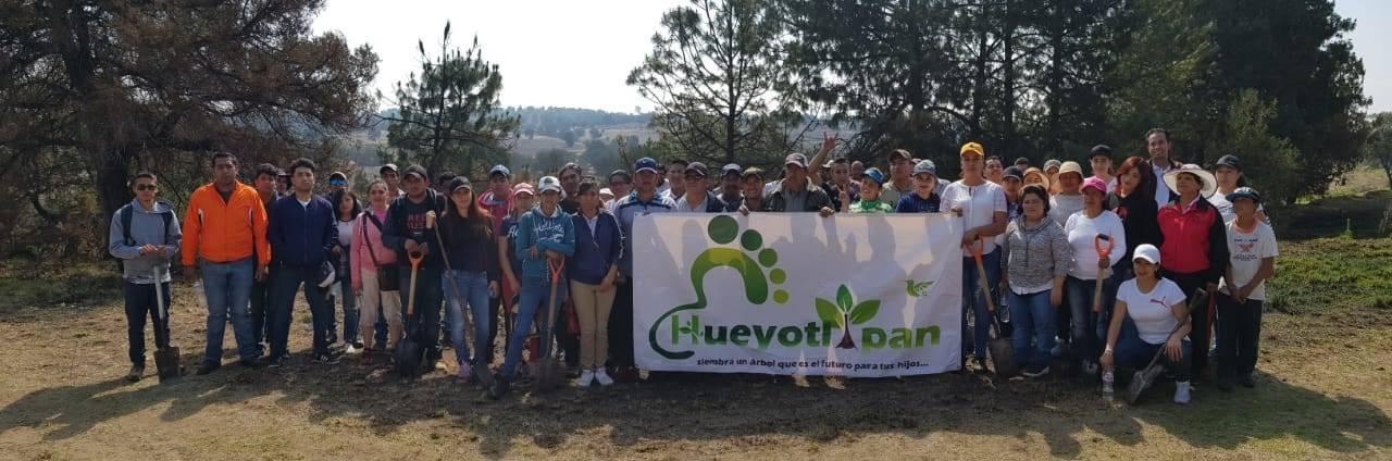 Ayuntamiento se suma al cuidado del medio ambiente sembrando 200 árboles