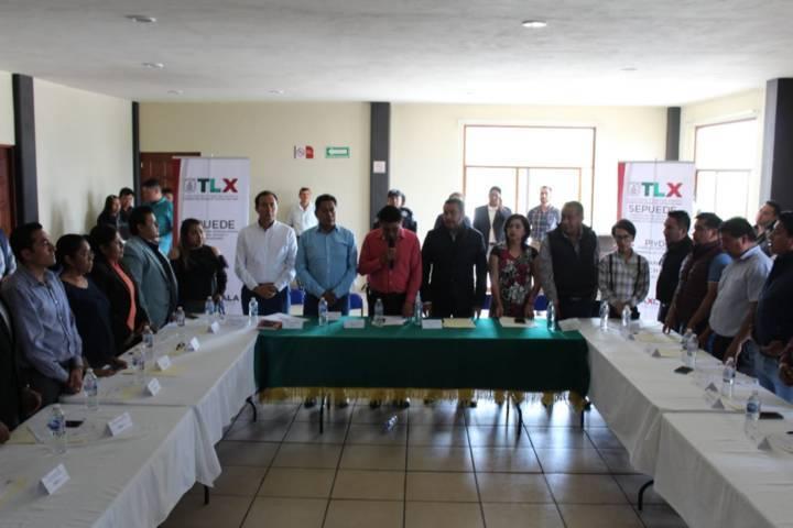 Huactzinco fue sede de la 2da reunión de comités consultivos de ICATLAX
