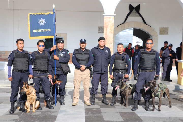Xicohtzinco es sede del Primer Encuentro de Unidades Caninas