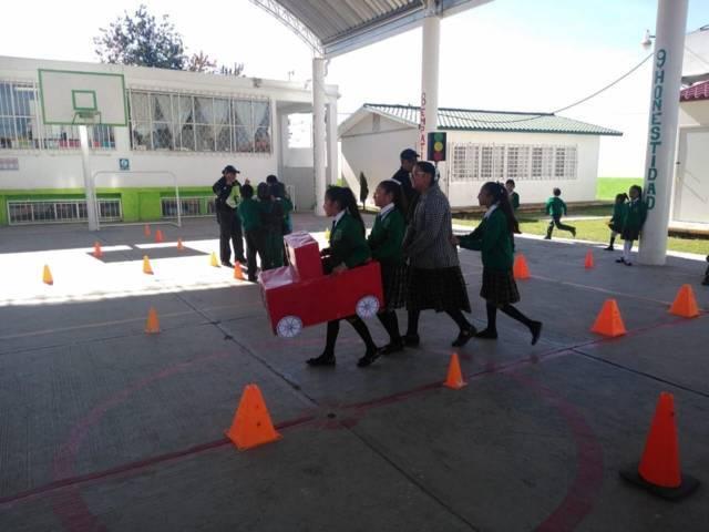 Seguridad Municipal realiza platicas de concientización en alumnos
