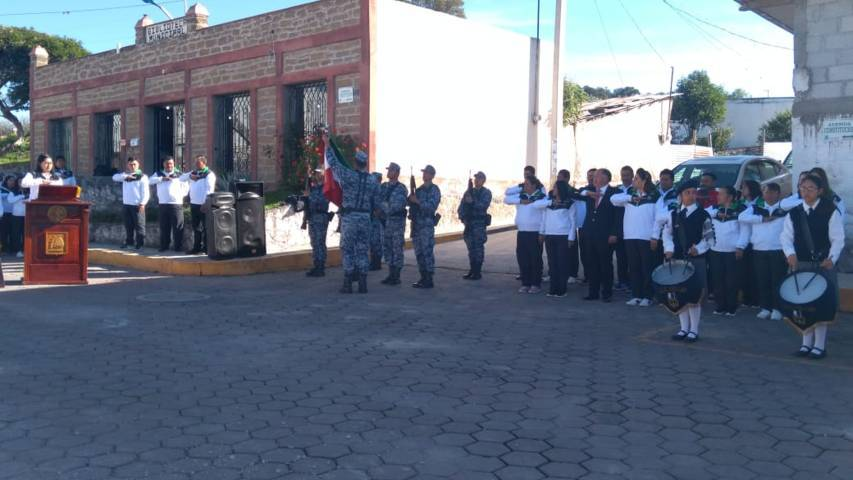 Alcalde encabezó homenaje del CVIII aniversario de la Revolución Mexicana
