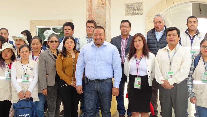 Inicia Censo de Población y Vivienda en Xicohtzinco