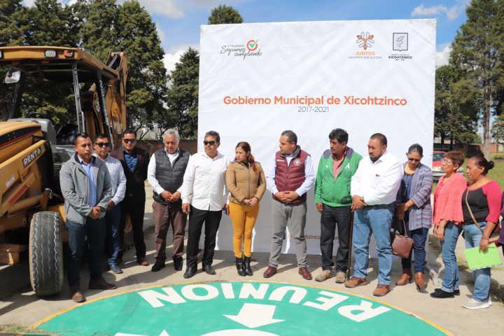 Inicia Rehabilitación en Institución Pública de Xicohtzinco