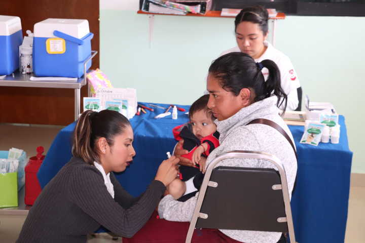 Realizan Jornada de Salud Pública en Xicohtzinco
