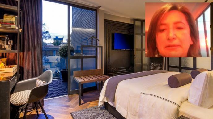 Jefa delegacional exhibe hotel clandestino de Polanco
