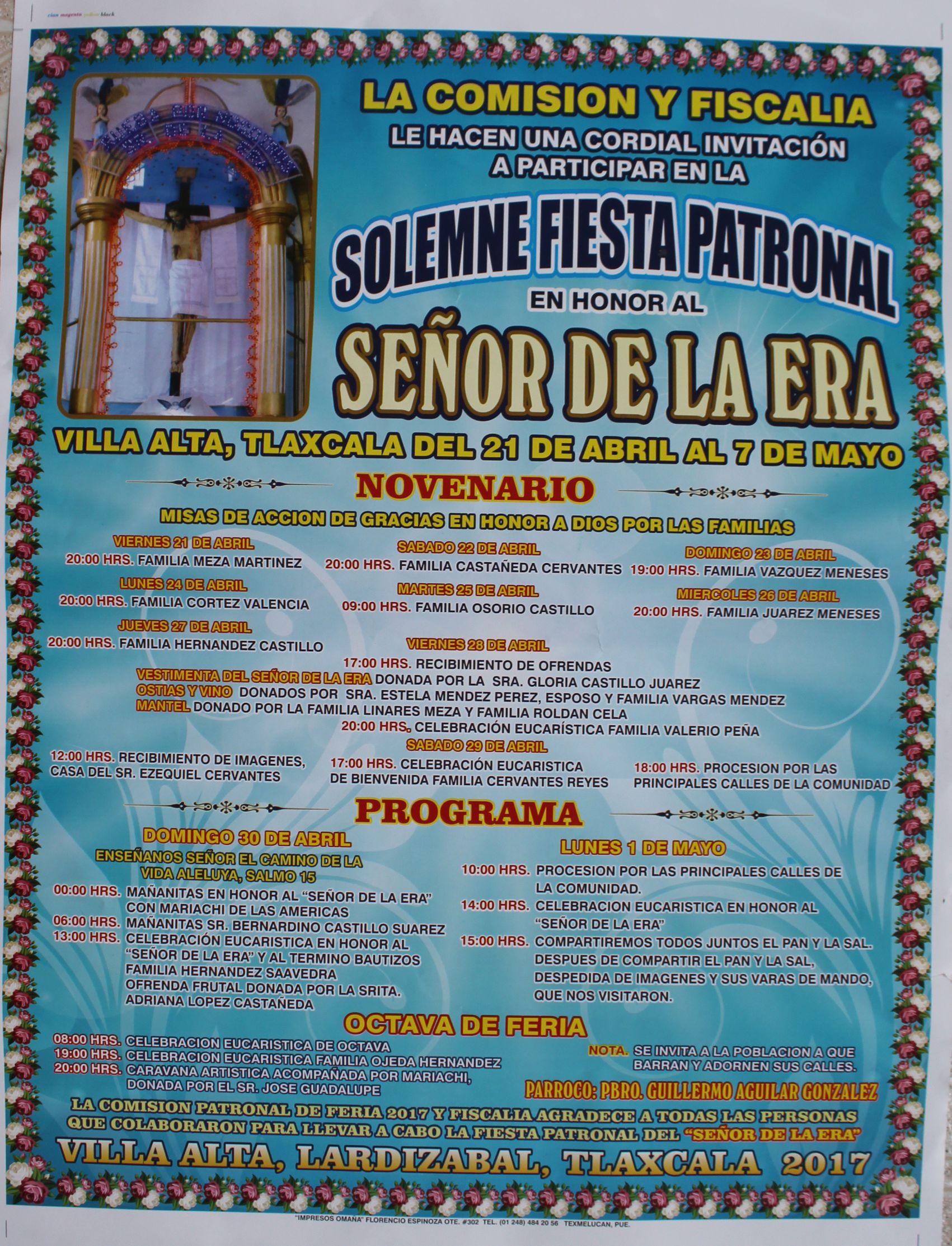 Celebrará Villa Alta su fiesta patronal