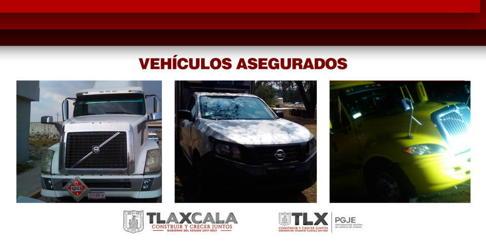 Recupera PGJE 3 vehículos con irregularidades