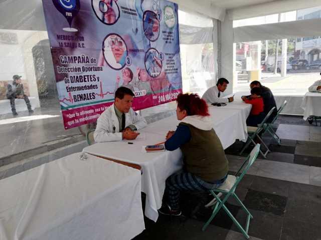 Realiza Xicohtzinco Jornadas de Salud