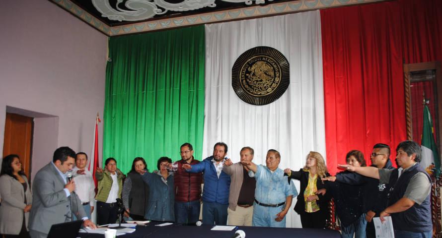 Alcalde toma protesta al Comité Ciudadano de Seguridad Publica