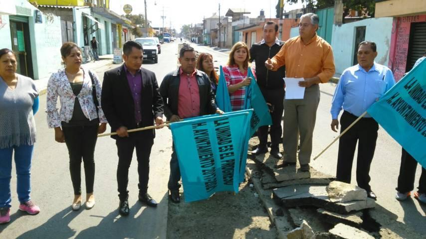 Con más obras básicas es apostarle al desarrollo del municipio: Pérez Rojas