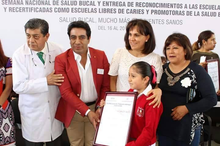 Certifican a primaria de Xiloxoxtla como libre de caries Y promotora de la salud