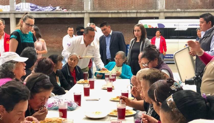 Este comedor mejorara la alimentación de los grupos vulnerables: alcalde