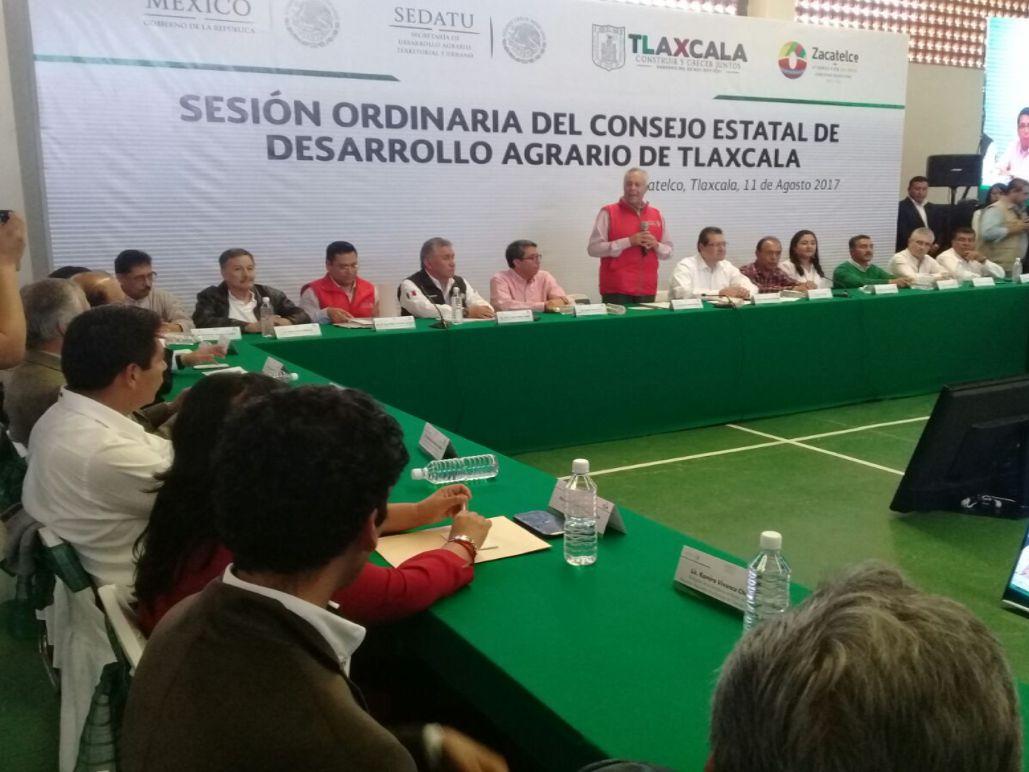 Participa SEMARNAT en el Consejo Estatal de Desarrollo Agrario