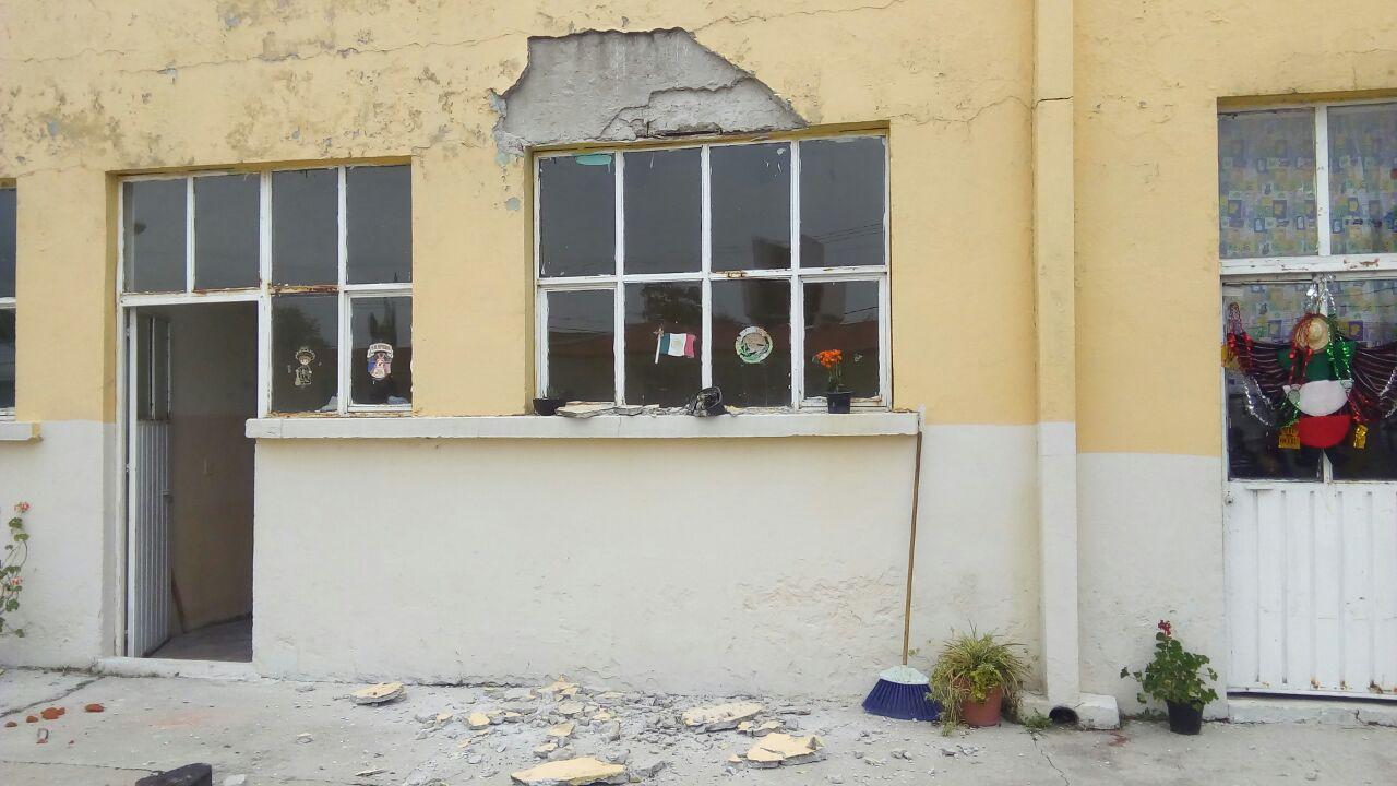 Sismo deja afectaciones en instituciones educativas de Lardizábal