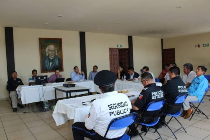 Huactzinco fue sede de la 2da Sesión del Consejo de Seguridad Pública