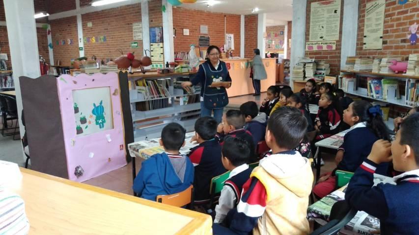 Destaca Biblioteca Municipal de Xicohtzinco, por actividades de fomento a lectura en el sur