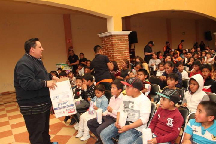 Estamos trabajando para el bienestar de los niños y las niñas del municipio: alcalde