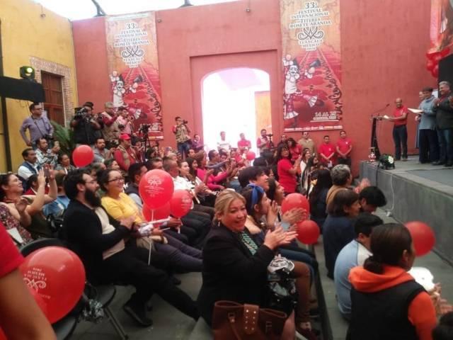 """El ITC reconoce Amaxac por ser partícipe del 33 festival de títeres """"Rosete Aranda"""""""
