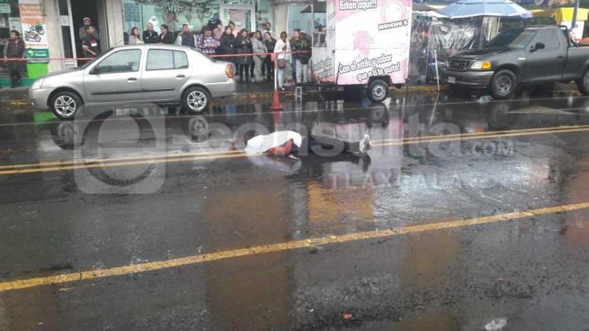 Par de ladrones pierden la vida al intentar asaltar negocio de un ex militar en Apizaco