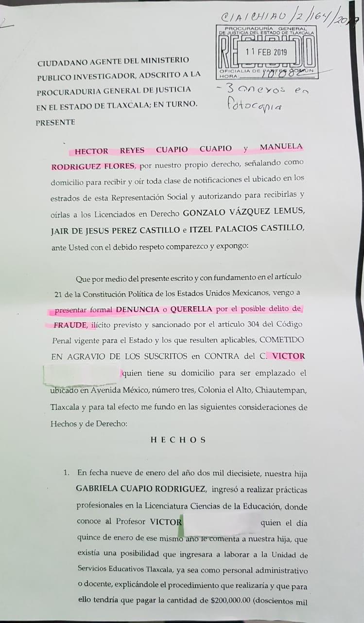 """Siguen las """"cochinadas"""" en la USET de Manuel Camacho"""