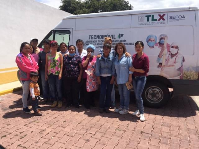 Imparten en Xicohtzinco taller de elaboración de conservas