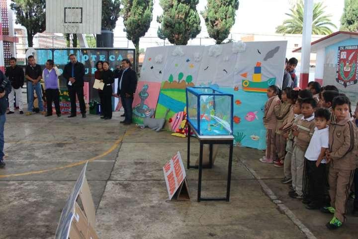 "Llega feria ""educativa y cultural"" a primaria Xicotencatl"