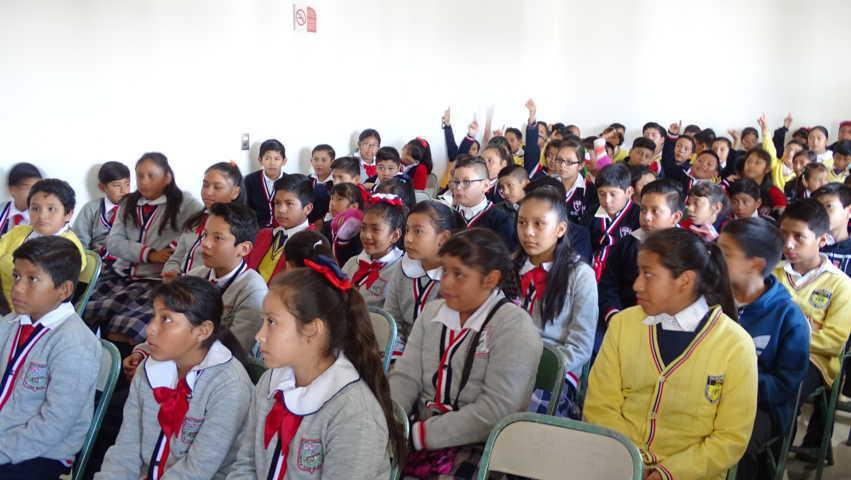 Participan niñas y niños de Xicohtzinco en curso para evitar el bullying