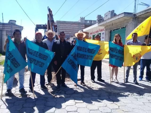 Pérez Rojas mejora la red de drenaje sanitario de dos calles