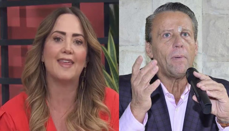Andrea Legarreta le responde a Alfredo Adame entre lágrimas