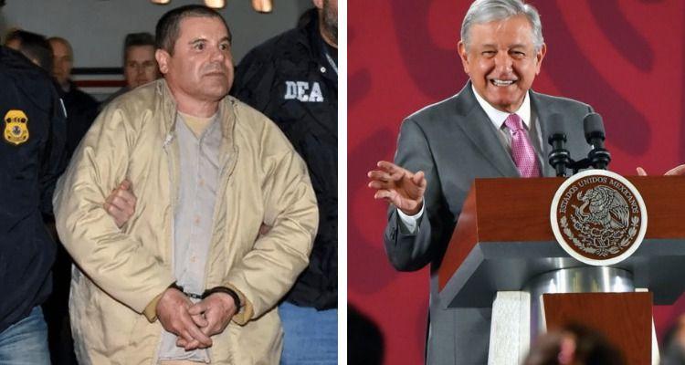 """Aplaude AMLO que Joaquín """"El Chapo"""
