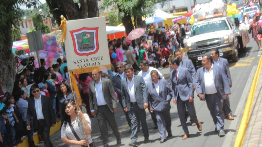 Alcalde puso en marcha la tradicional feria Santa Cruz Tlaxcala 2018