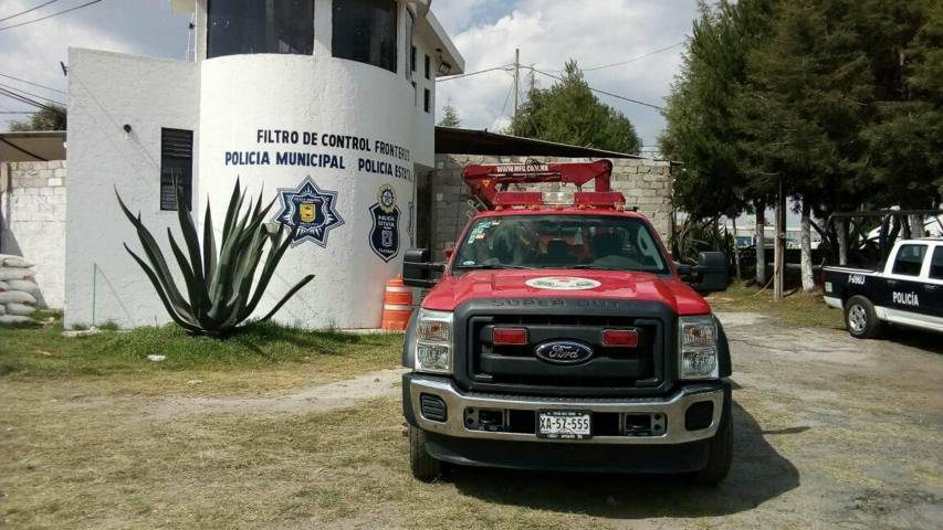 Habilita CES dos bases de bomberos en Sanctórum y San Pablo del Monte