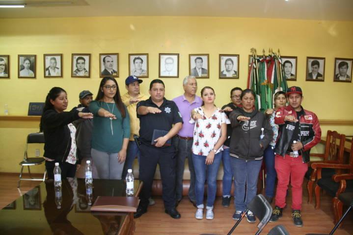 En Amaxac se conforma nuevo comité de Participación ciudadana