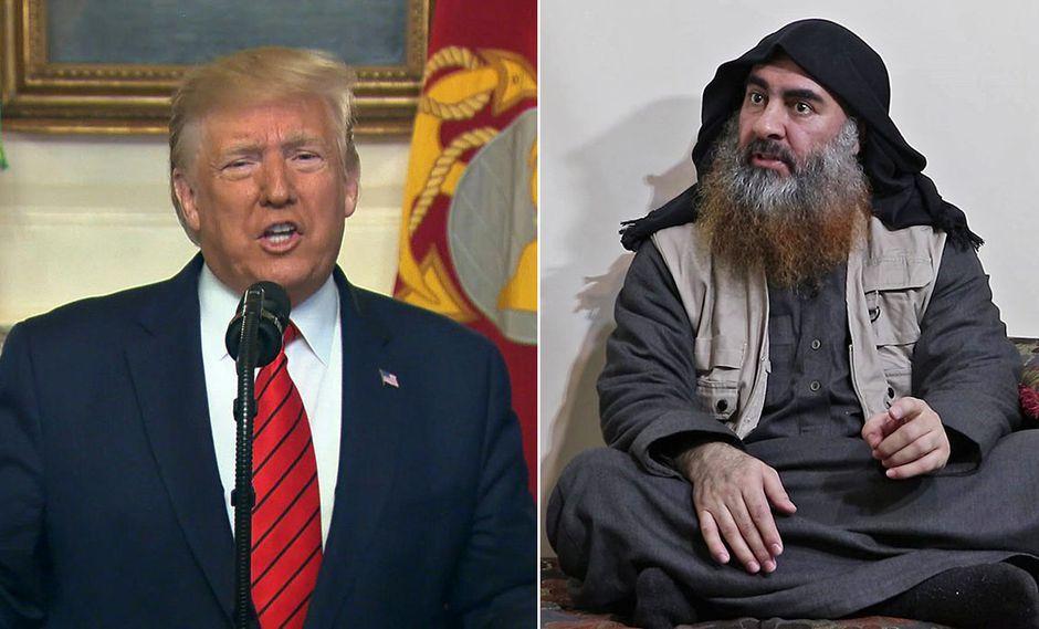 Donald Trump se burla de líder del Estado Islámico tras su muerte