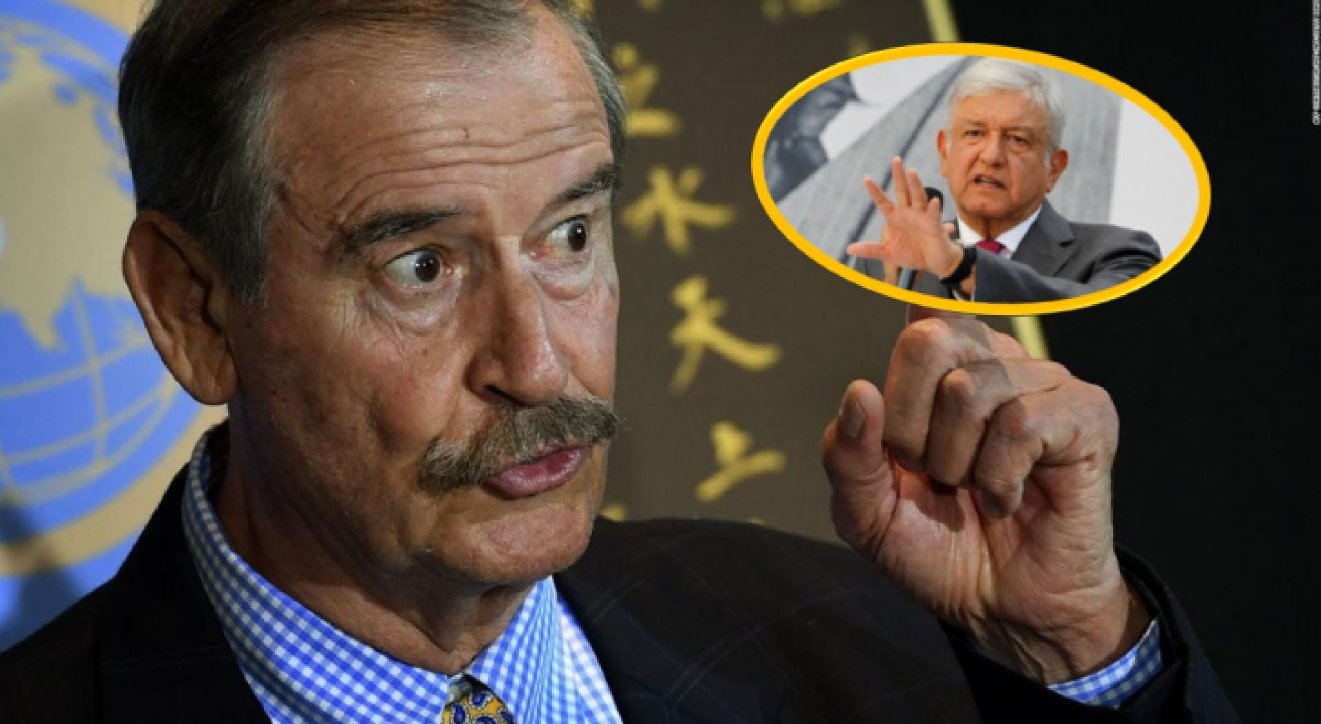 Vicente Fox llama AMLO