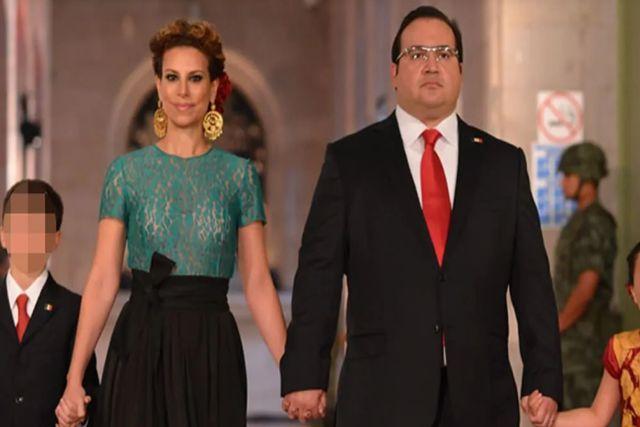Javier Duarte deberá pagar $180 mil al mes por pensión tras divorcio