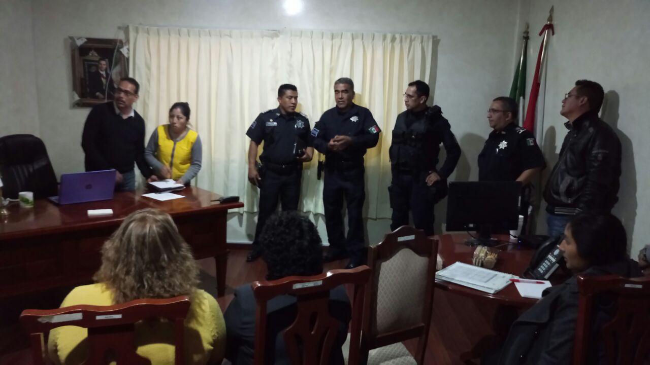 Alcalde fortalece la seguridad con acciones preventivas
